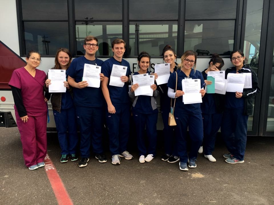 Students receive CNA Certification!